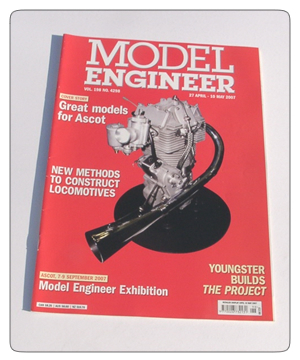 Model Engineer Vol 198 #4298 27th April 2007