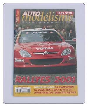 Auto Modelisme Rally 2001 Car Guide