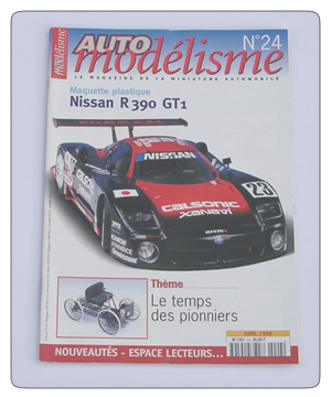 Auto Racing Discount Magazine on Issue 24 Of The French Language Model Car Magazine Auto Modelisme