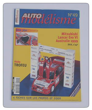 Auto Racing Discount Magazine on Issue 49 Of The French Language Model Car Magazine  Auto Modelisme
