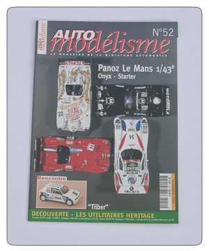 Auto Racing Discount Magazine on Issue 52 Of The French Language Model Car Magazine  Auto Modelisme