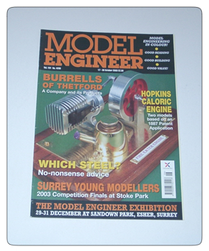 Model Engineer Vol 191 #4206 17th October 2003