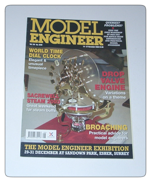 Model Engineer Vol 191 #4208 14th November 2003
