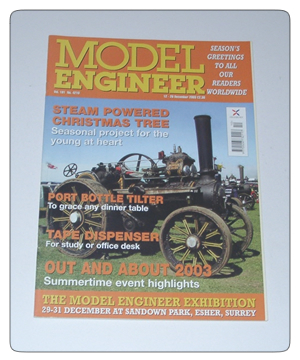 Model Engineer Vol 191 #4210 12th December 2003