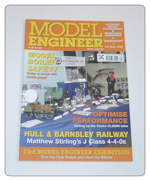 Model Engineer Vol 192 #4220 30th April 2004