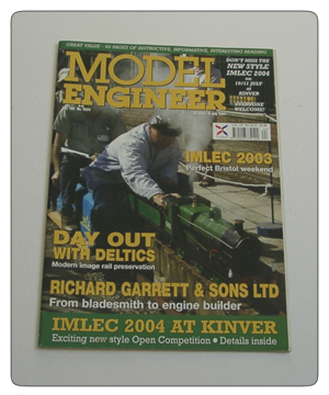 Model Engineer Vol 192 #4224 25th June 2004
