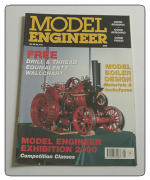 Model Engineer Vol 186 #4141 March 9th 2001