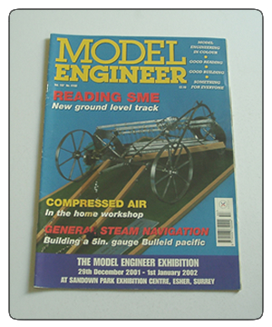 Model Engineer Vol 187 #4153 August 24th 2001