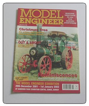 Model Engineer Vol 187 #4160 2001
