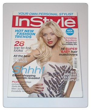 InStyle magazine issue 79 September 2007