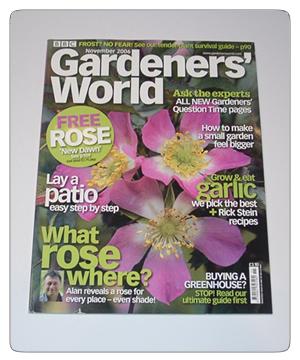 Gardeners World - November 2006 issue