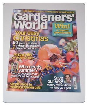 Gardeners World - December 2006 issue
