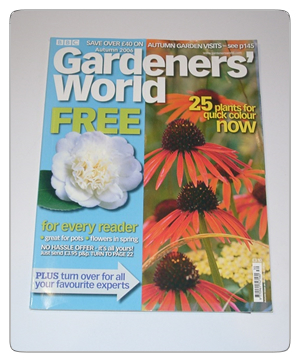Gardeners World - Autumn 2006 issue