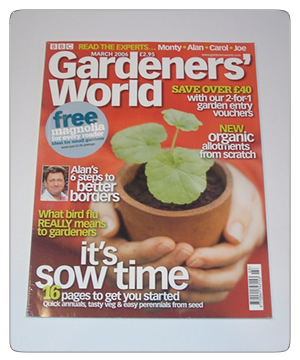 Gardeners World - March 2006 Issue