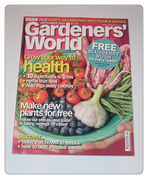 Gardeners World - September 2006 issue