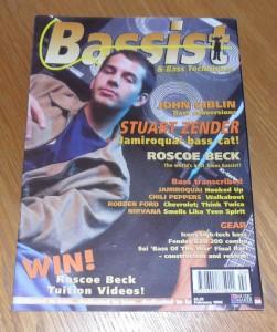 Bassist Magazine February 1996