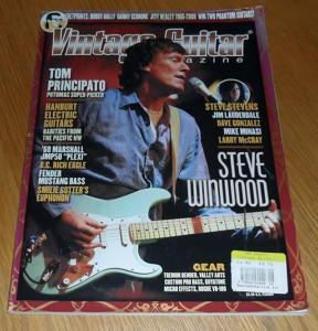 Vintage Guitar June 2008