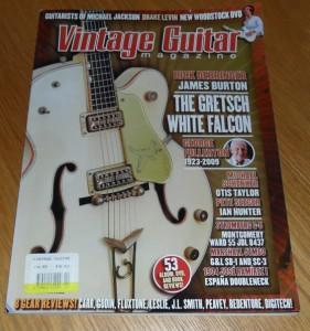 Vintage Guitar October 2009