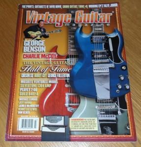 Vintage Guitar March 2010