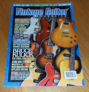 Vintage Guitar April 2010