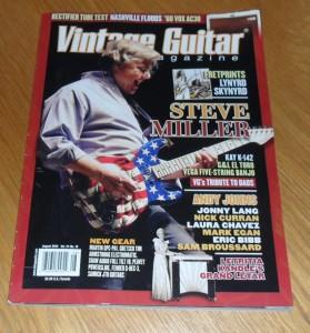 Vintage Guitar August 2010