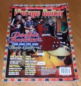 Vintage Guitar November 2011