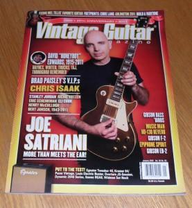 Vintage Guitar January 2012