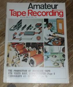 Amateur Tape Recording Magazine, November 1966