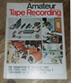 Amateur Tape Recording Magazine, November 1966