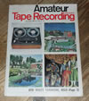 Amateur Tape Recording Magazine, December 1966