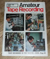 Amateur Tape Recording Magazine, April 1967