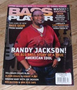 Bass Player Magazine, April 2008