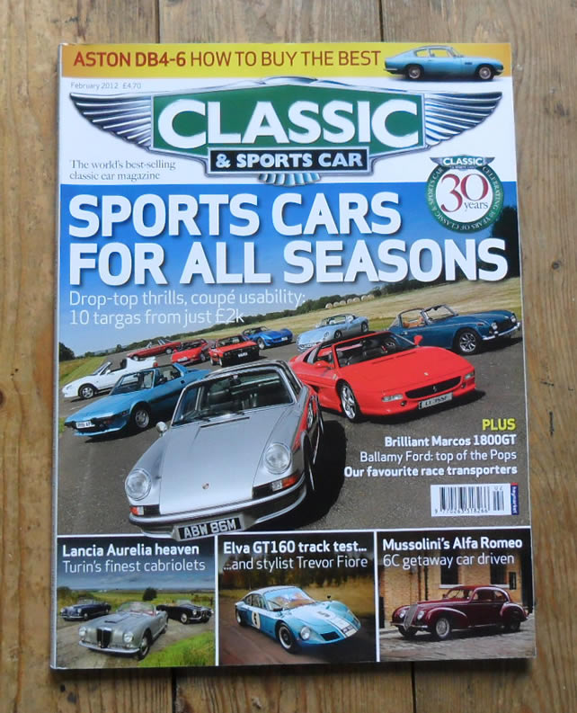 Classic And Sports Car Magazine February Recycled - Classic and sportscar magazine