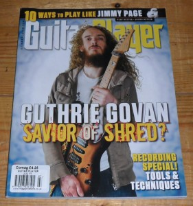 Guitar Player July 2011