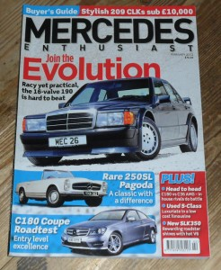 Mercedes Enthusiast Magazine February 2012