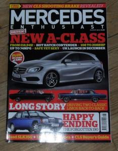 Mercedes Enthusiast Magazine August 2012