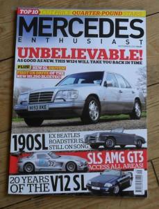 Mercedes Enthusiast Magazine September 2012