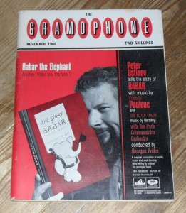 The Gramophone Magazine, November 1966