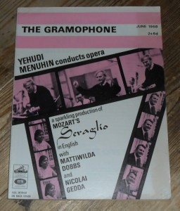 The Gramophone Magazine, June 1968