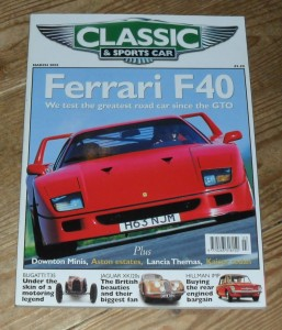 Classic and Sports Car Magazine March 2002