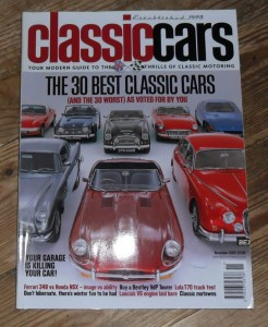 Classic Cars Magazine November 2003