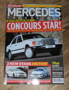 Mercedes Enthusiast Magazine January 2013