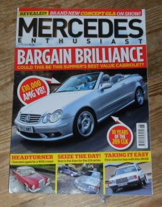 Mercedes Enthusiast Magazine June 2013