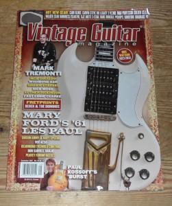 Vintage Guitar September 2012