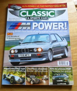 Classic and Sports Car Magazine March 2014