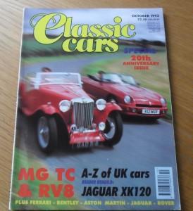 Classic Cars Magazine October 1993