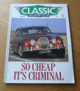 Classic and Sports Car Magazine January 1988