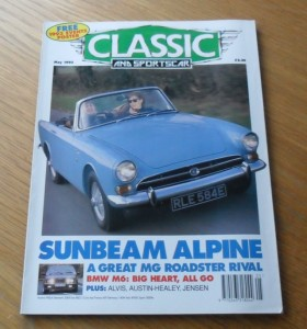 Classic and Sports Car Magazine May 1993