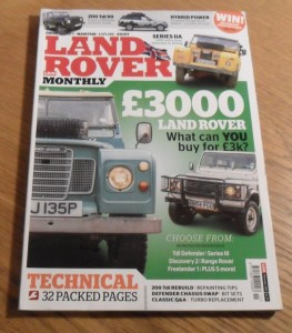 Land Rover Monthly November 2013