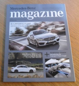 Mercedes-Benz Magazine, Winter 2014